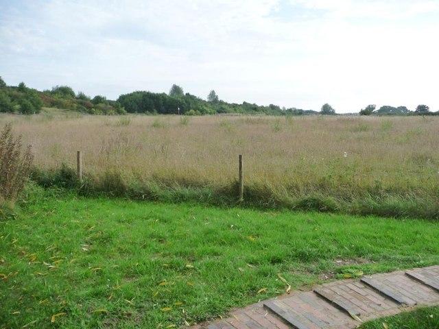 Farmland south-east of Higg's Lock