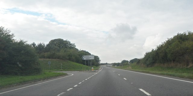 A417 exit for Winstone