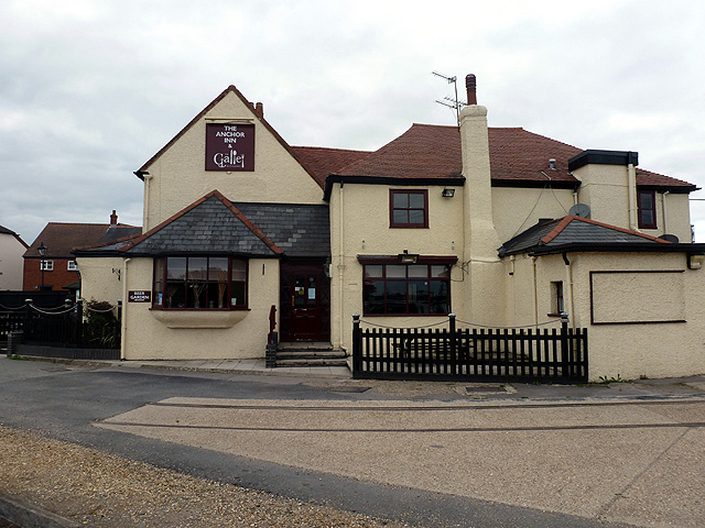 The Anchor at Eling