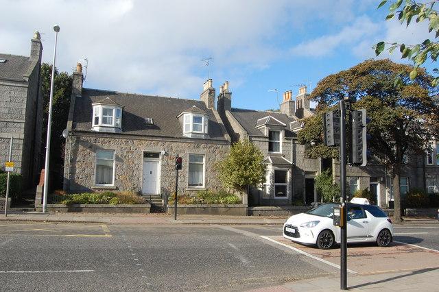 Urban cottage, King Street, Aberdeen