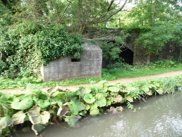 Pillbox between railway and canal