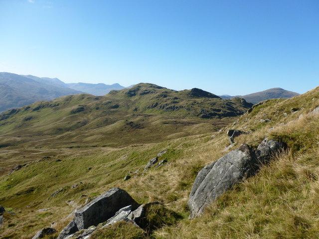 Near the foot of Creag na Caillich