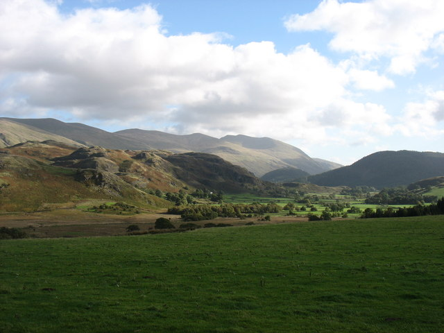 Country east of Keswick