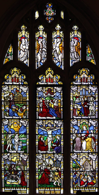 All Saints, Great Braxted - Stained glass window