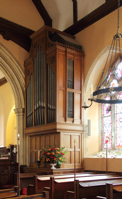 All Saints, Great Braxted - Organ