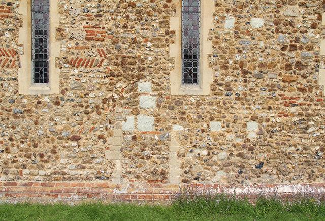 All Saints, Great Braxted - Exterior stonework