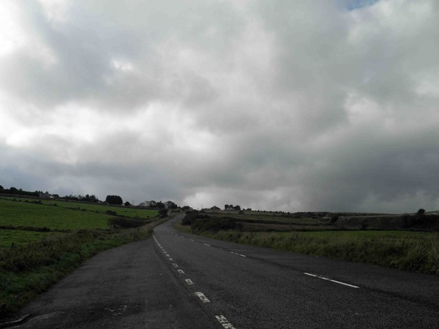 The old line of the A30 near Bolventor, Cornwall
