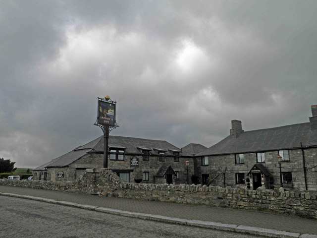 A very grey looking Jamaica Inn
