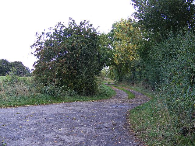 Folly Lane Byway off Wenham Road