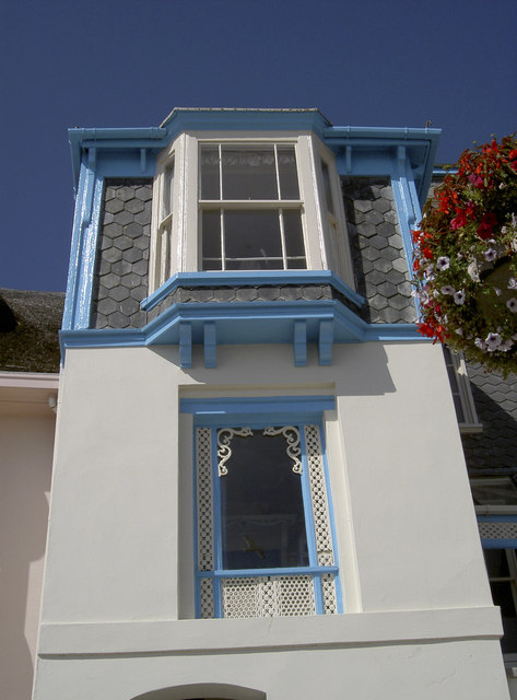 Bay window with a bay view
