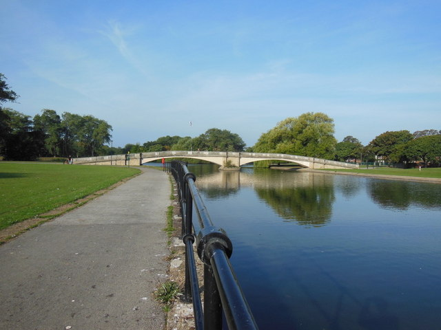 East Park lake, Hull