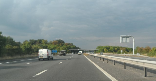 M5 Northbound