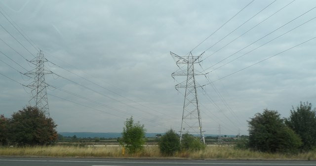 Pylons by the M5
