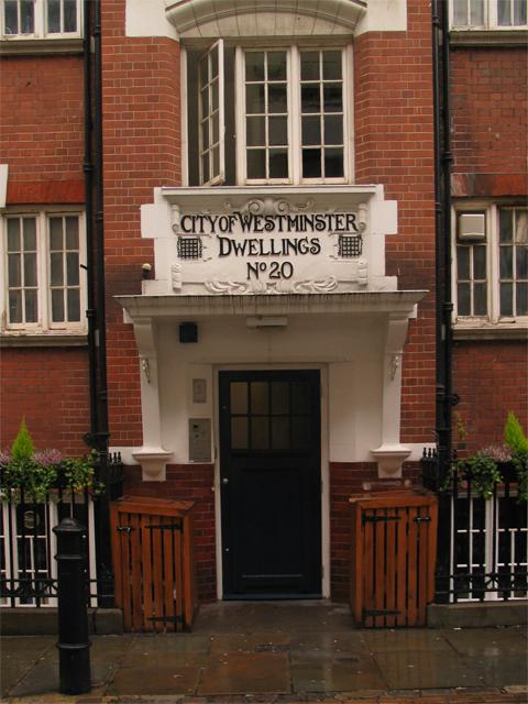 Flats, Marshall Street (built 1906)