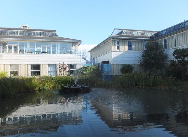 Water garden, Wansbeck Hospital