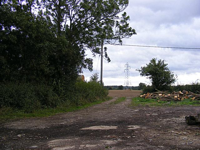 Footpath off Wenham Road