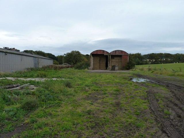 Workshops used as barns