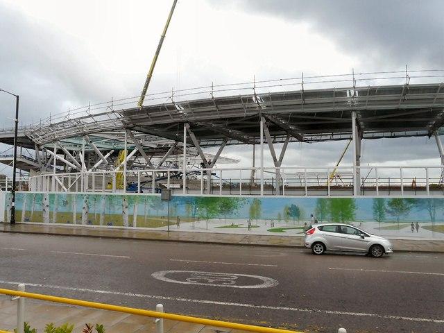 City Football Academy Under Construction