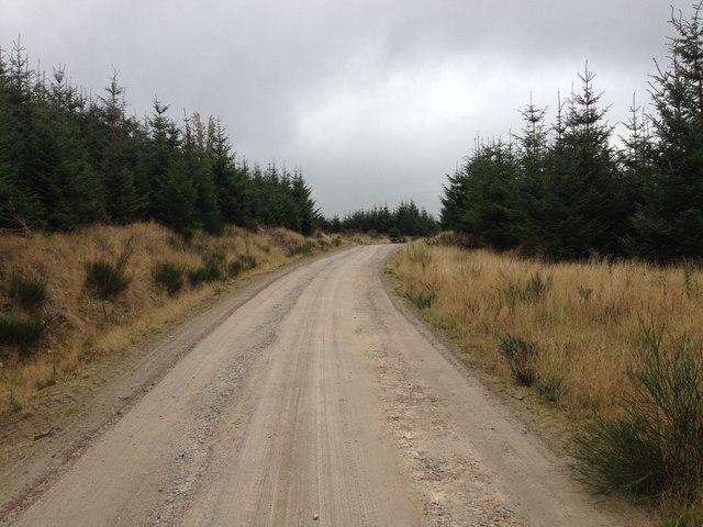 Novar windfarm access road