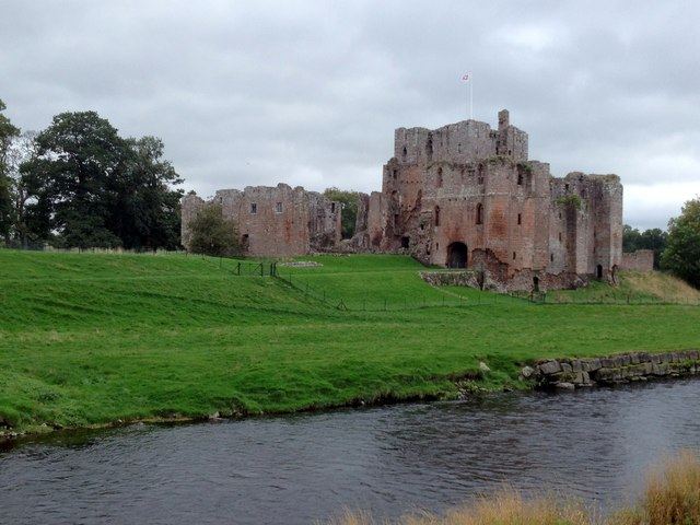 Brougham Castle and the River Eden