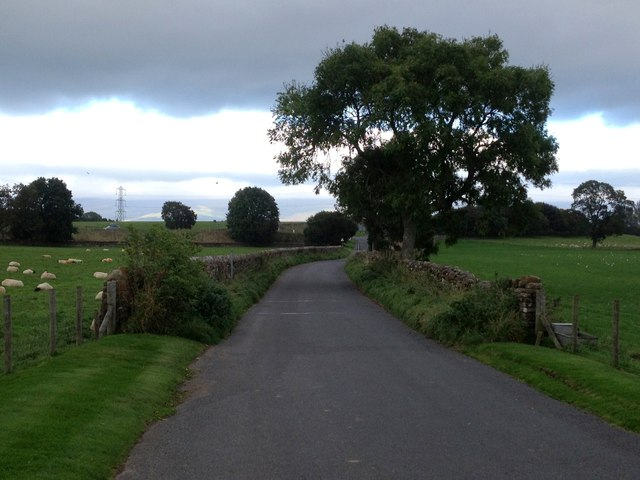 B6262 south of A66