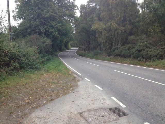 A832 near Muir of Ord