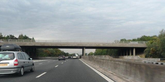 Northbound M5