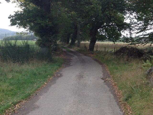 No through road near Balvraid Farm