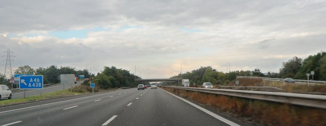M5 at junction 9