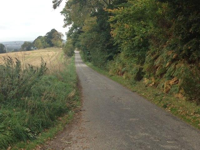 Minor road near Dunglass