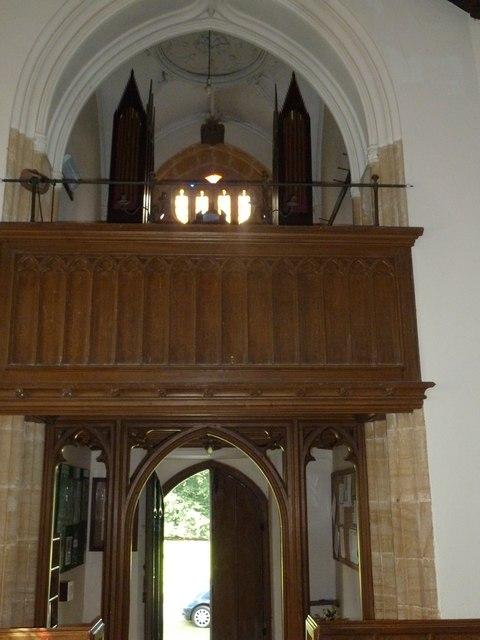 Inside St. Michael, Over Compton (b)