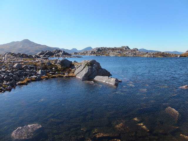 Lochan to South West of Sgùrr Dubh