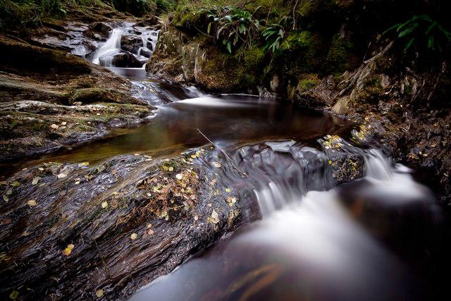 Allt Starraidh Waterfalls