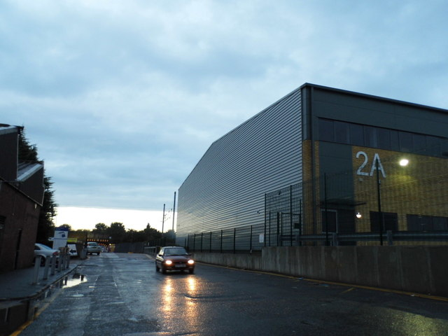 Industrial units on Brent Road, Southall