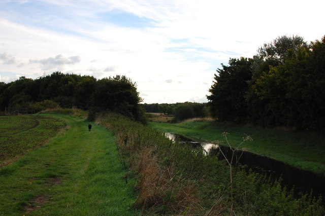 Mar Dyke and bridleway