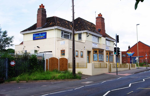Ocean Basket (formerly The Vine) (1), 46 Camp Hill, Wordsley, Stourbridge