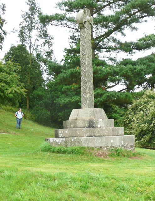 Memorial cross, Killerton