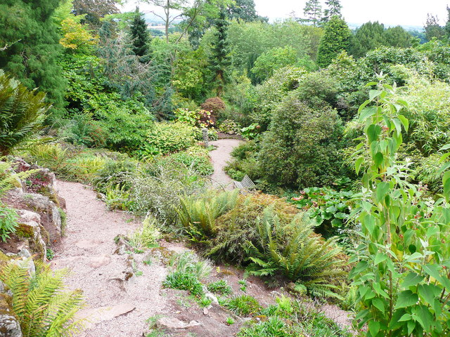The rock garden, Killerton