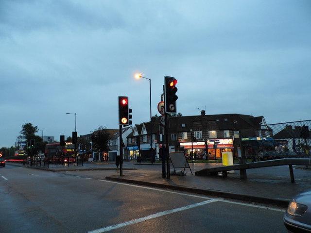 Shops on Bath Road, Cranford