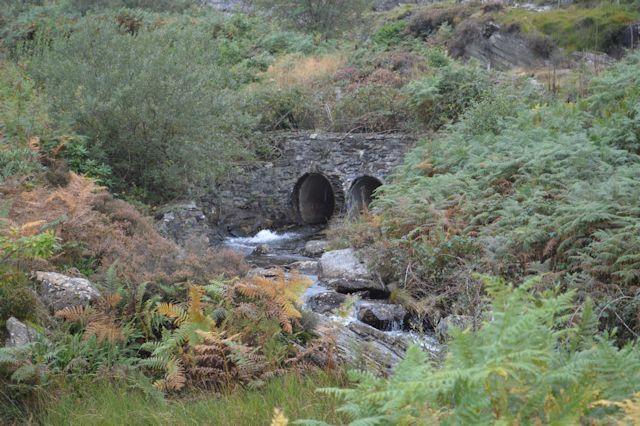 Culverts under railway line