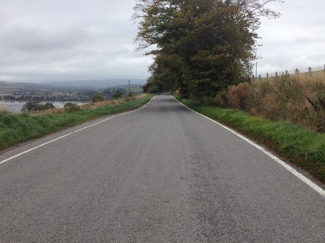 Road near Mains of Mountgerald