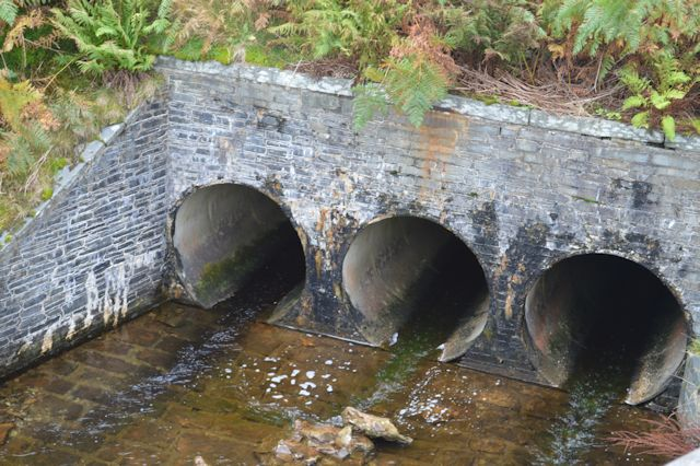 Culverts by road