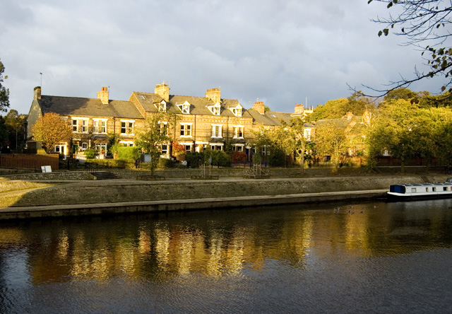 Terrace by the Ouse, York