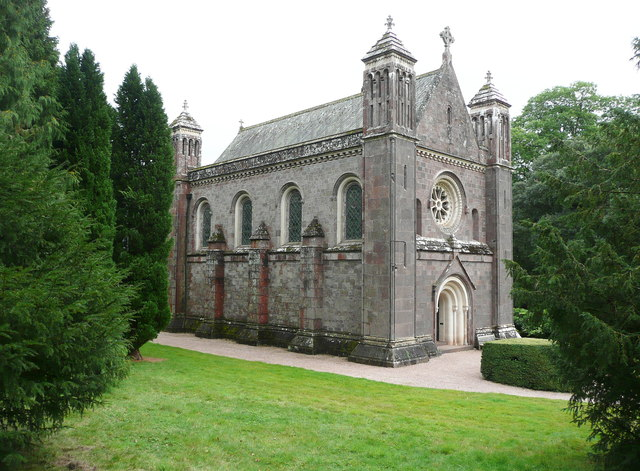 The chapel at Killerton