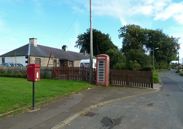 Phone Box at Libberton