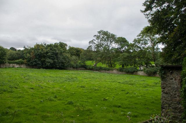 Former walled garden