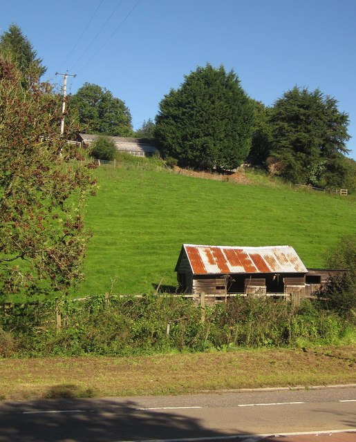 Farm building near Notter Bridge