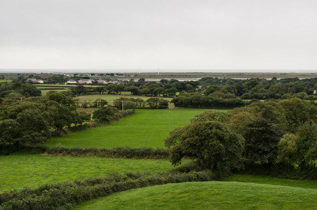 West from Plas Dinas