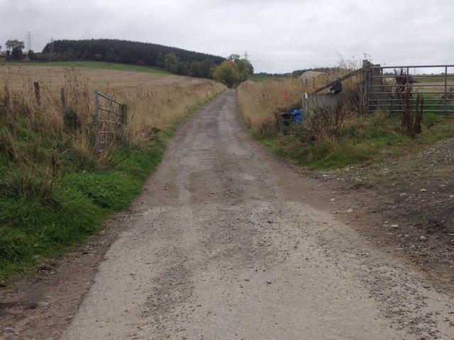 Farm road to Knockancurin