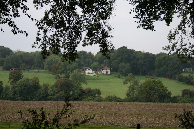 High Clandon Farm from Fullers Farm Road